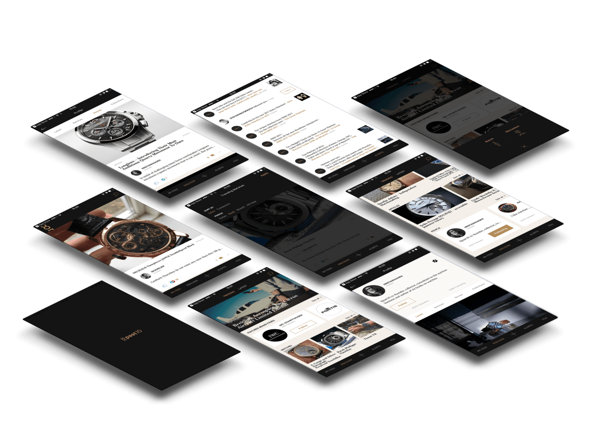8past10 - Sociale netværk for ur-entusiaster cases