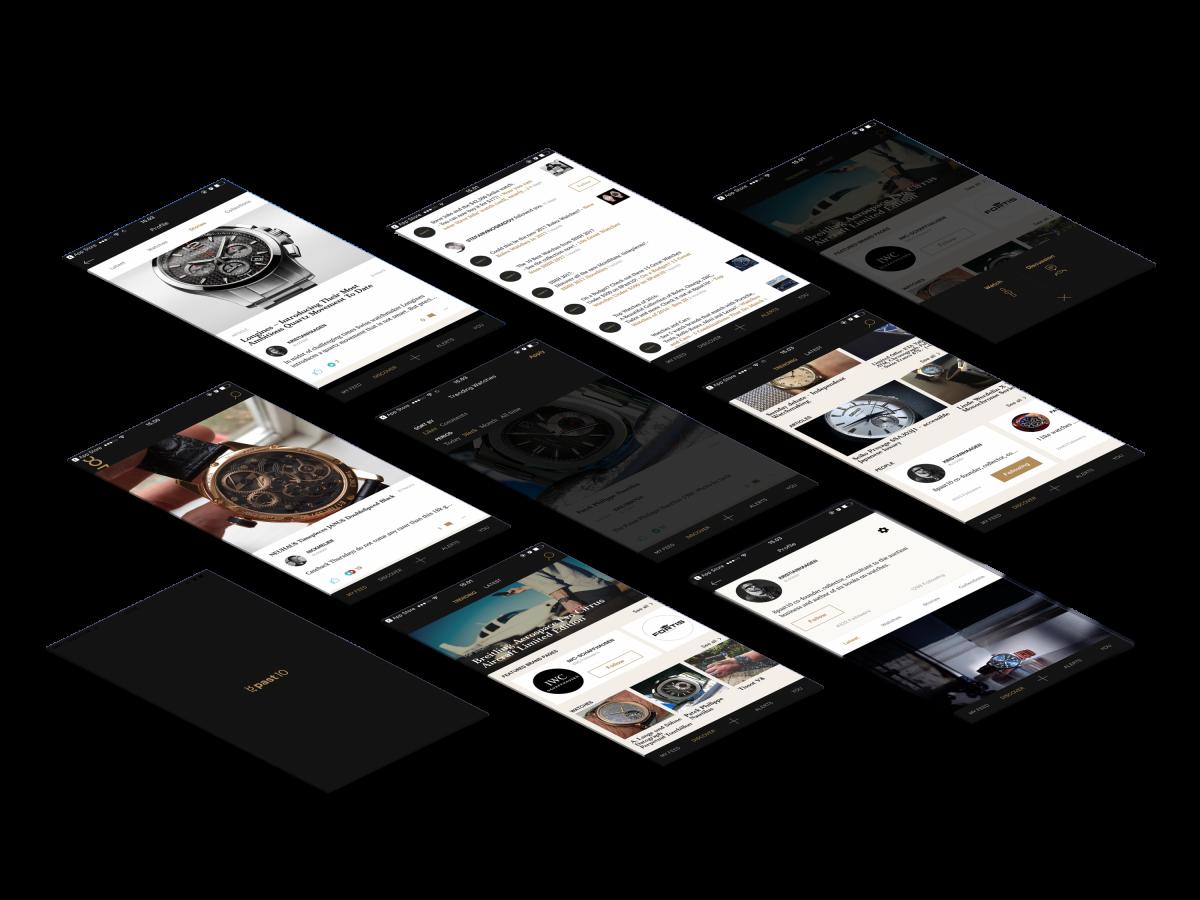 8past10 app skærmbilleder case