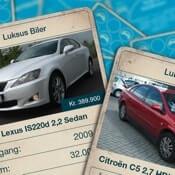 AutoUncle bilkort app ikon