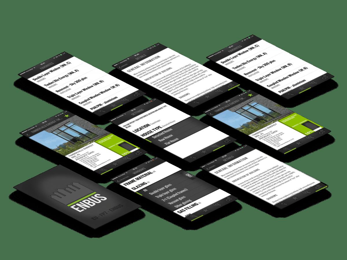 ENBUS app skræmbilleder case