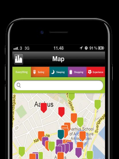 GoGreenGlobe app skærmbillede