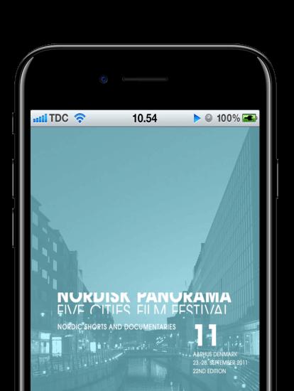 nordisk panorama app skærmbillede