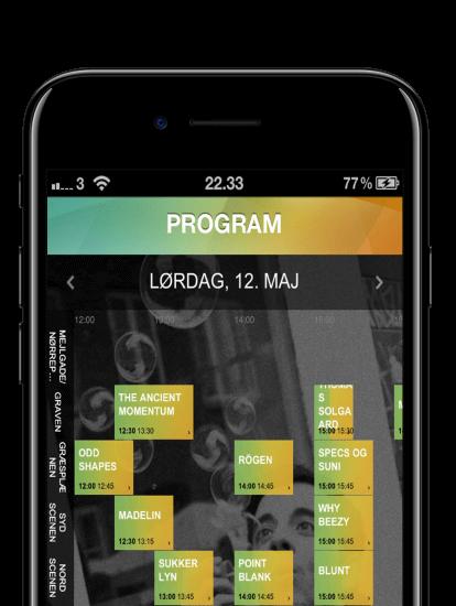Mejlgade for mangfoldighed app skærmbillede