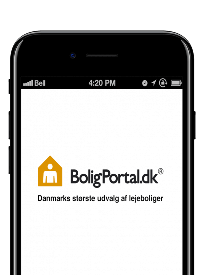 Boligportal app skærmbillede