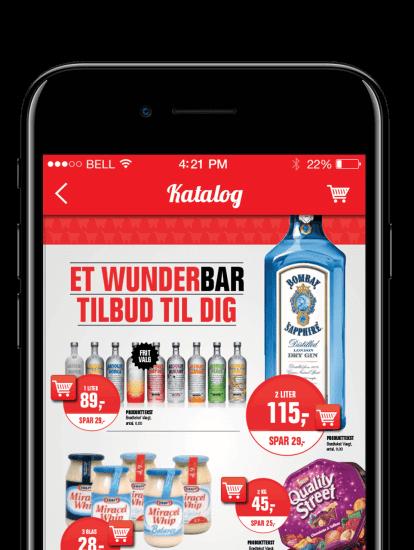 United Shops app skærmbillede