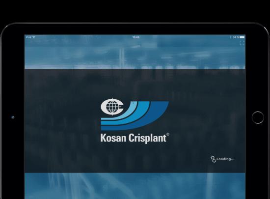 Kosan Crisplant iPad App Mockup Case