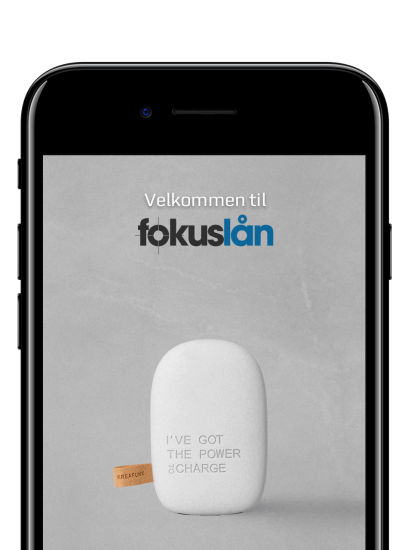 Fokuslån Fokus lån App iOS Android Ideal Development